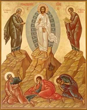 Resultado de imagen de Icono de la Transfiguración