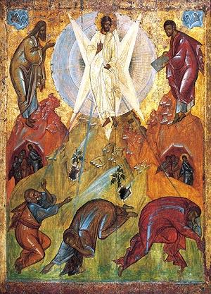 Icono de la Transfiguración del Señor