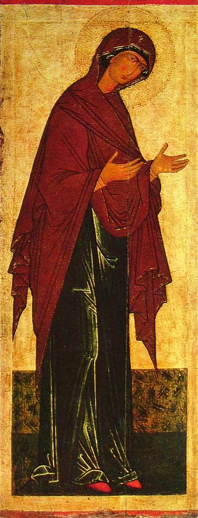 Resultado de imagen para icono virgen maria